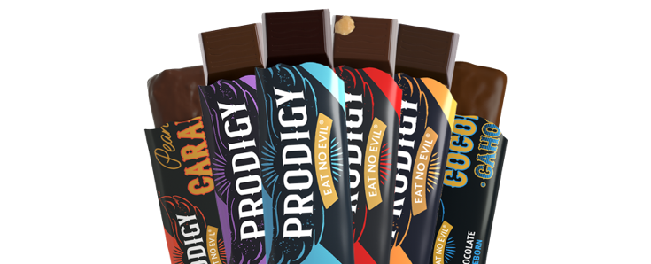 Fan of 6 Prodigy Chocolate Bar flavours