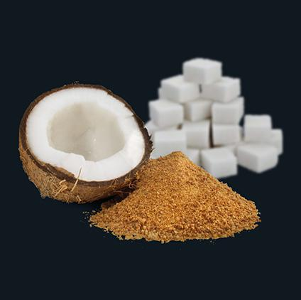 Coconut and Sugar cubes